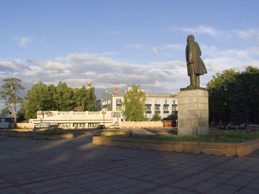 Памятник Ленину город Красногорск