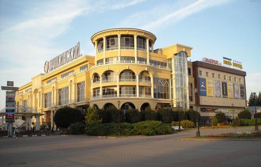 Торговый центр Пушкинский город Курск