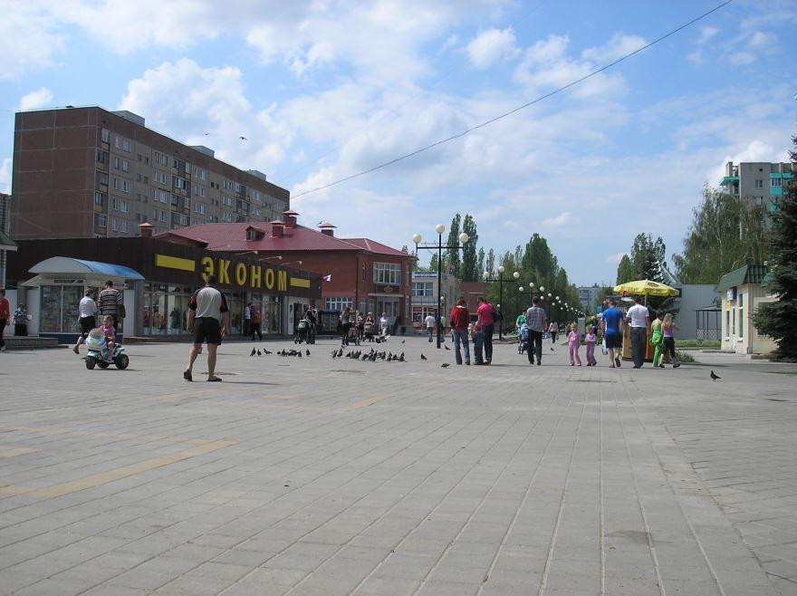 Бульвар Победы город Курчатов