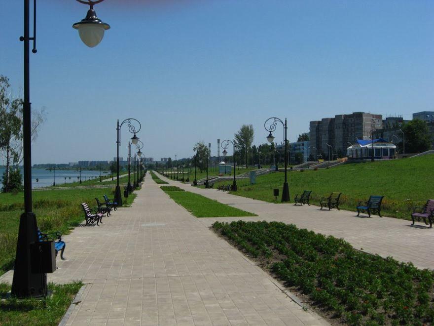 Смотреть лучшее фото города Курчатов Набережная