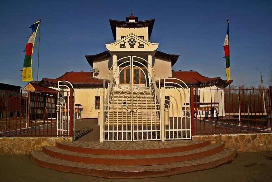 Хурээ Цеченлинг Буддийский храм город Кызыл