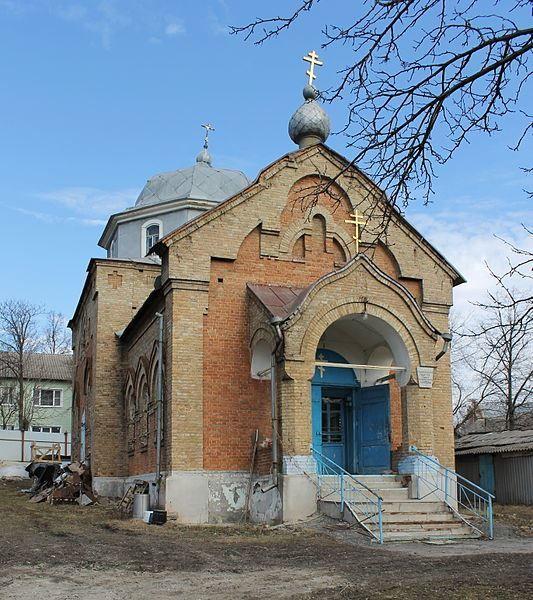 Старообрядческая церковь Дмитрия Солунского город Льгов
