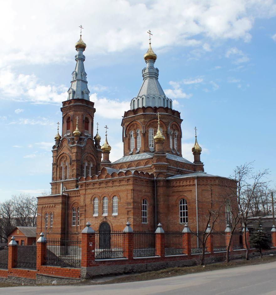 Свято-Никольский собор город Льгов