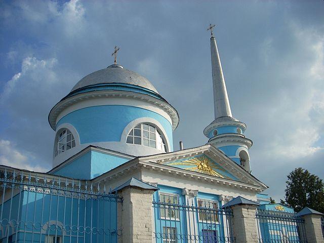Успенский храм город Льгов