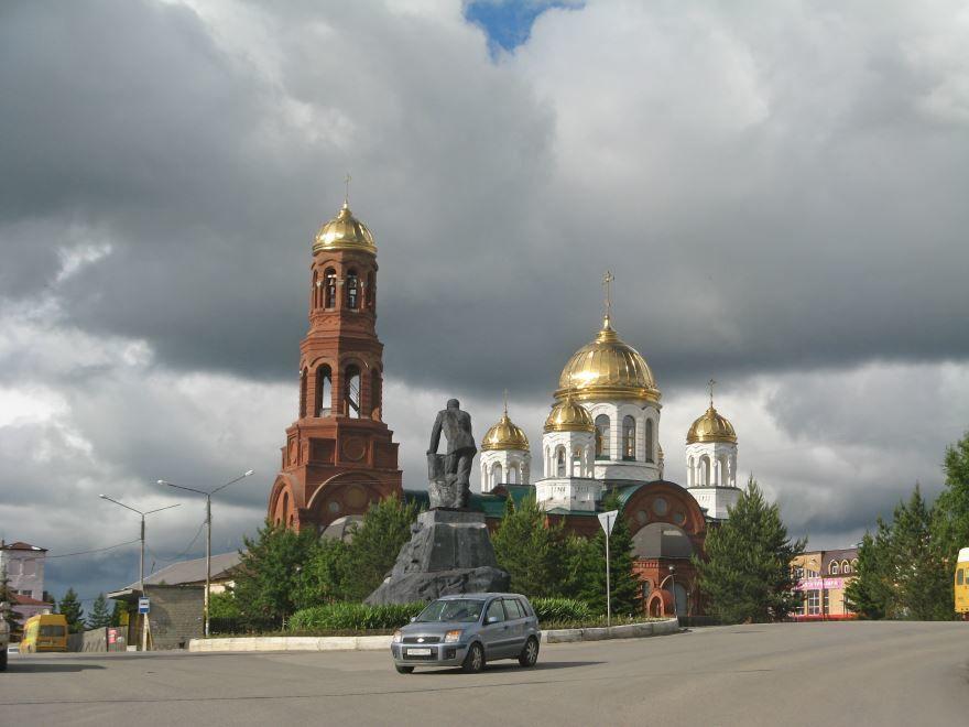Свято-Троицкий храм город Лысьва