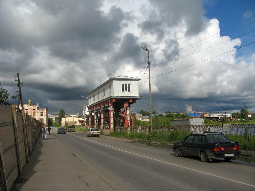 Смотреть красивое фото на плотине город Лысьва в хорошем качестве