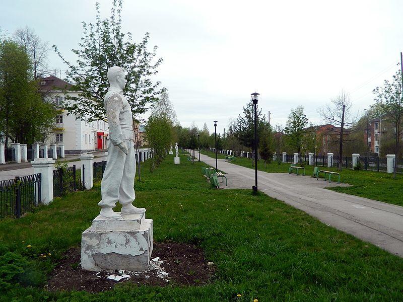 Смотреть красивое фото парк Советской скульптуры в хорошем качестве