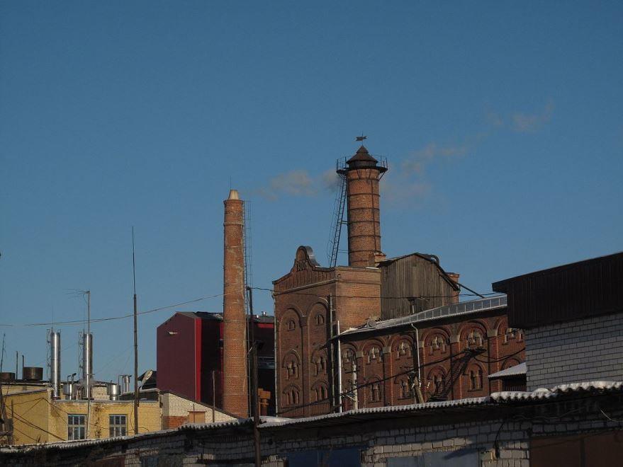 Пивоваренный завод город Лысково