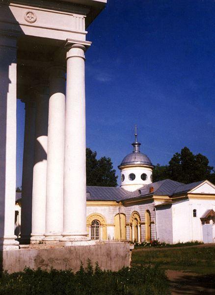 Церковь Святого Георгия Грузинского 1814 год город Лысково