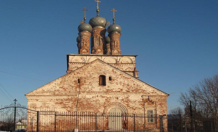 Спасо-Преображенский собор город Лысково