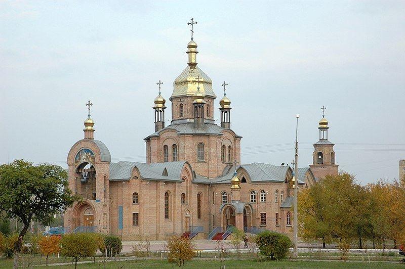Свято Христо-Рождественский кафедральный собор город Лысково