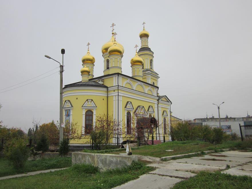 Церковь Николая Чудотворца город Кыштым