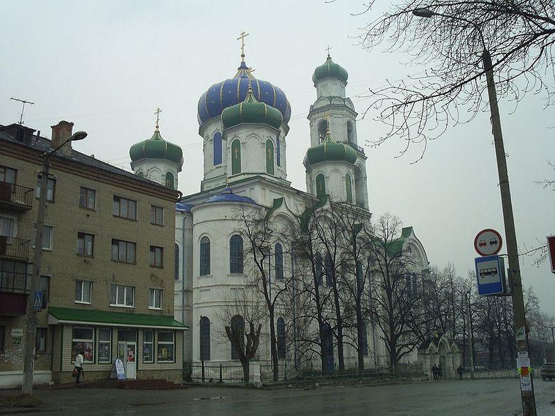 Церковь Рождества Христова 1857 год город Кыштым