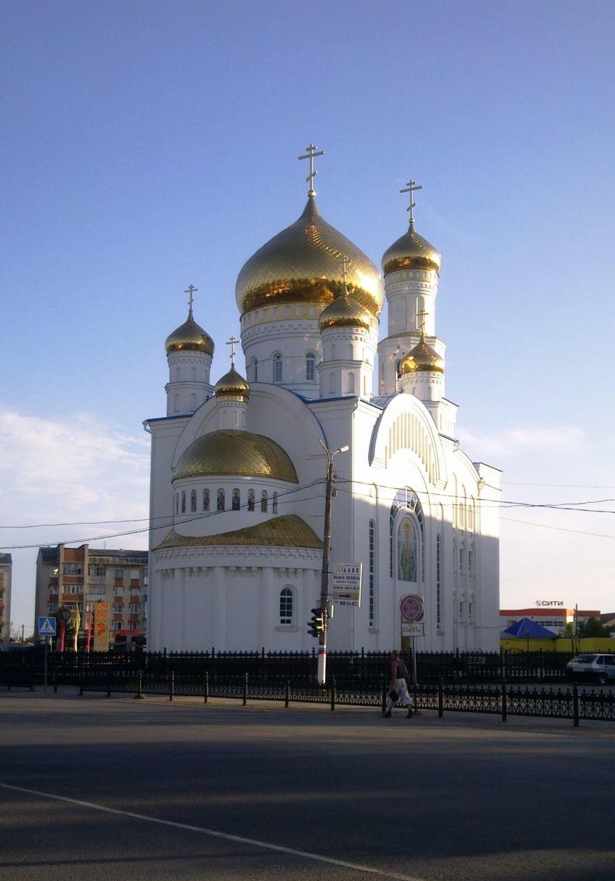 Скачать онлайн бесплатно лучшее фото Собор Воскресения Христова город Краснослободск