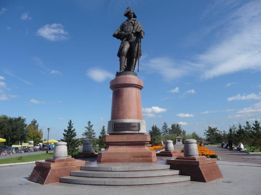 Памятник Николаю Петровичу Резанову город Красноярск