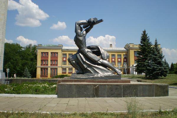 Смотреть лучшее фото города Красный Сулин Мемориал Победы в хорошем качестве