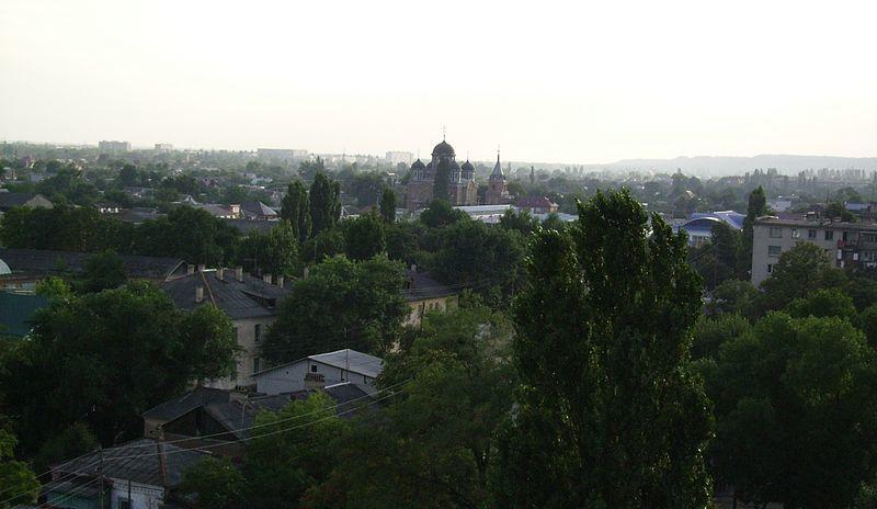 Смотреть лучшее фото вид сверху город Кропоткин в хорошем качестве