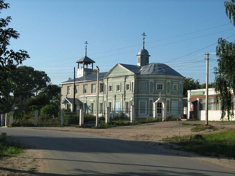 Казанская церковь в старом Костове