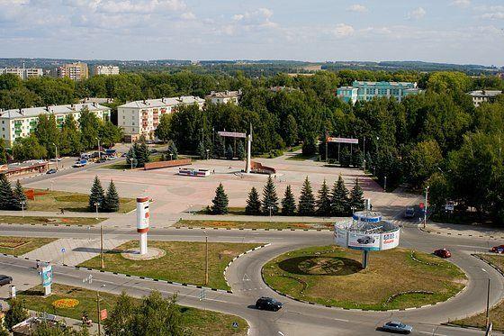 Скачать онлайн бесплатно лучшее фото красивый вид города Кстово в хоошем качестве