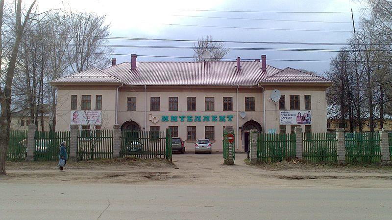 Здание Детско-юношеского центра Интеллект город Кстово