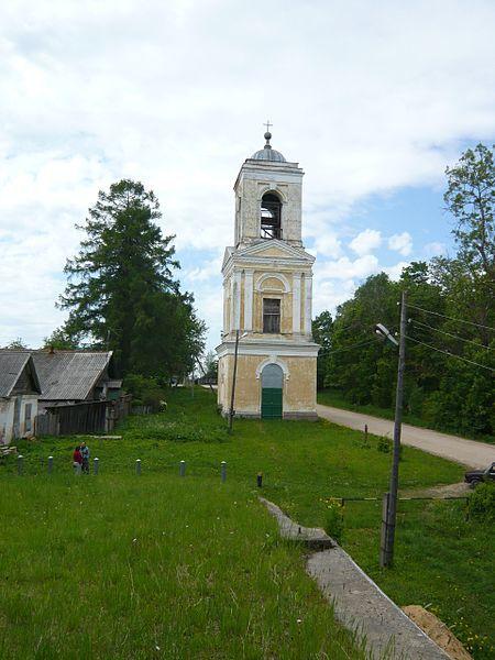 Колокольня Троицкой церкви город Кувшиново