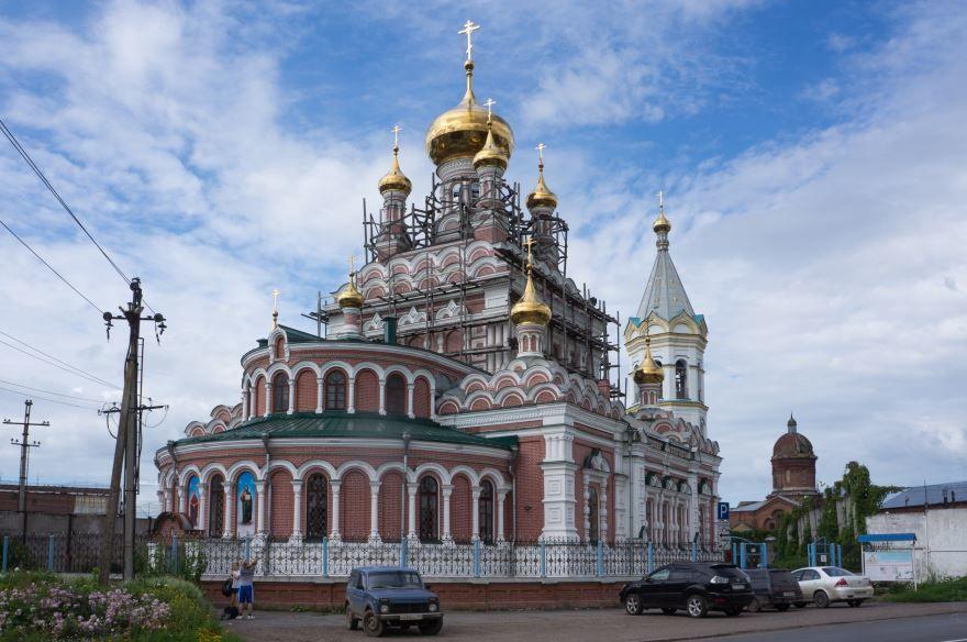 Церковь Николая Чудотворца город Кунгур
