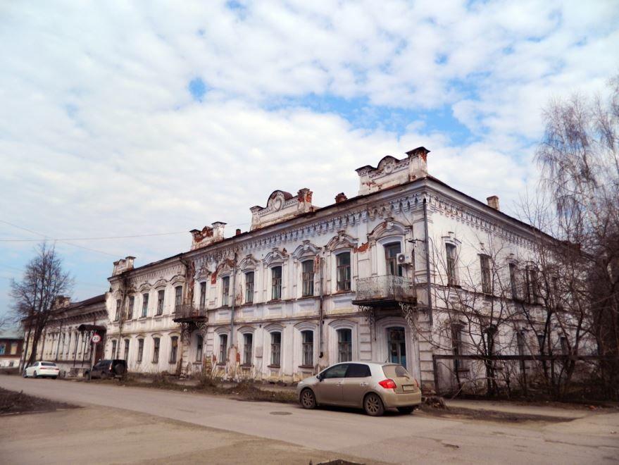 Дом Грибушина город Кунгур 2019