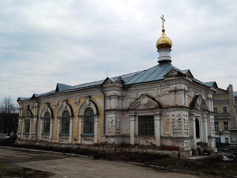 Малая Алексеевская церковь город Кунгур