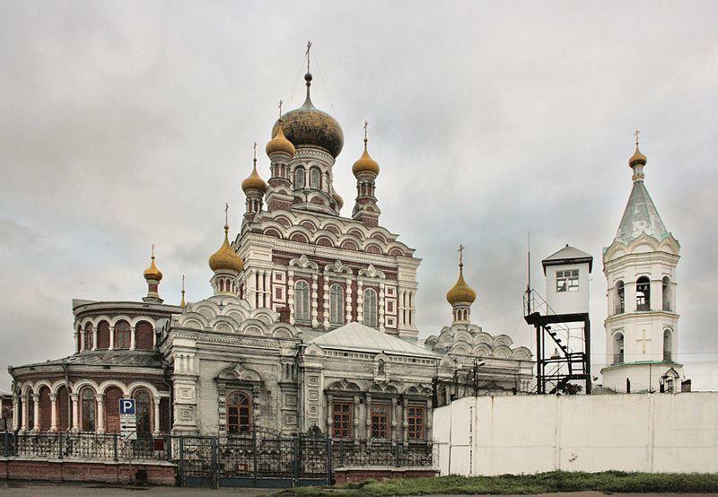 Смотреть красивое фото Николаевская церковь город Кунгур в хорошем качестве