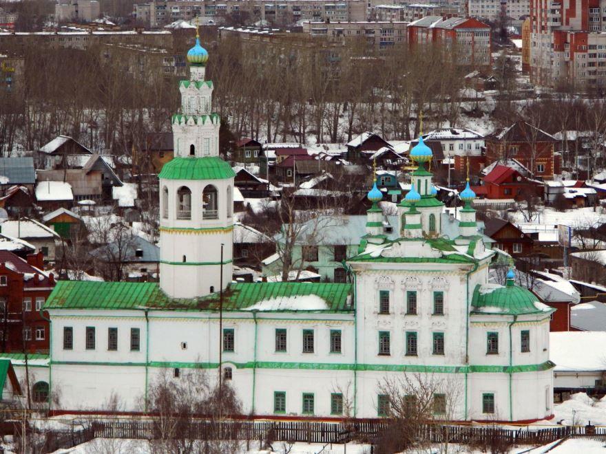Спасо-Преображенская церковь город Кунгур