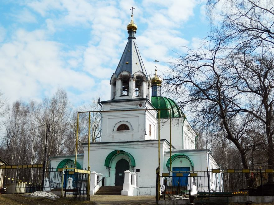 Всехсвятская церковь город Кунгур