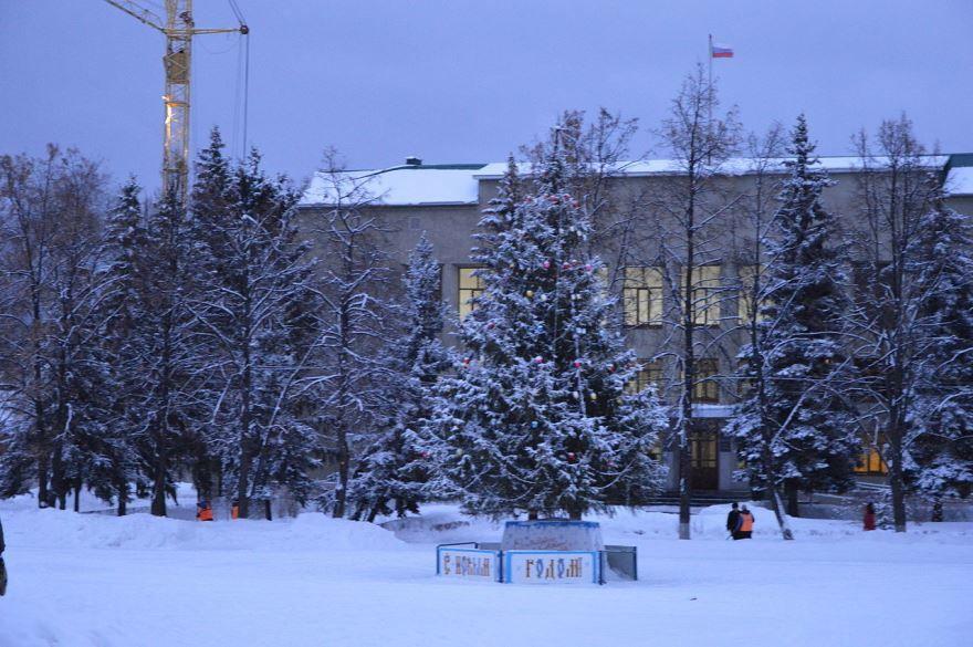 Площадь имени В.И. Ленина город Кузнецк