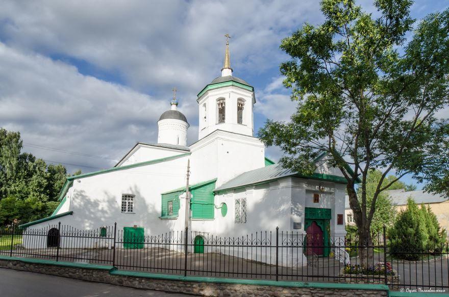 Церковь Ильи Пророка город Луга