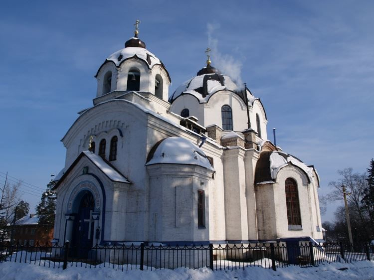 Казанский собор город Луга