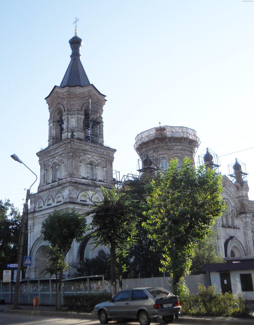 Воскресенский собор город Луга