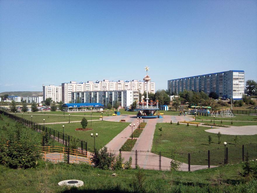 Парк Юбилейный город Лениногорск