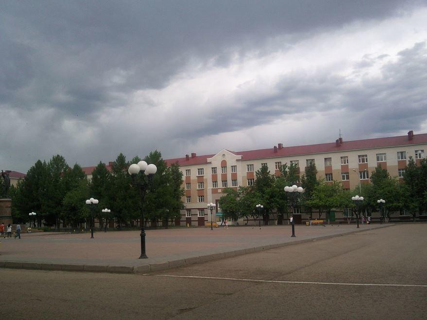 Смотреть красивое фото города Лениногорска в хорошем качестве