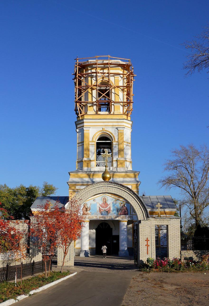 Покровский храм город Лиски