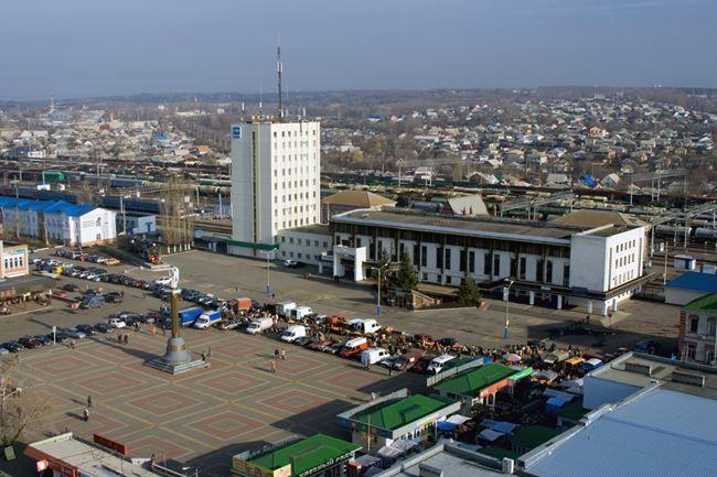 Смотреть лучшее фото вид сверху город Лиски 2019 в хорошем качестве