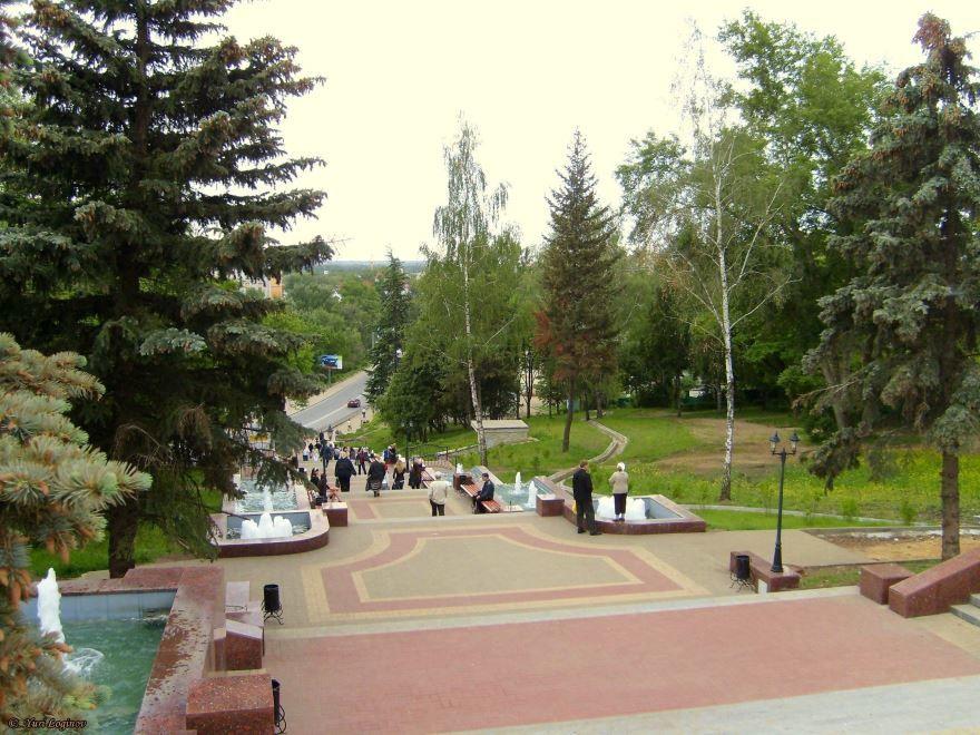 Скачать онлайн бесплатно лучшее фото с красивым видом города Липецка в хорошем качестве