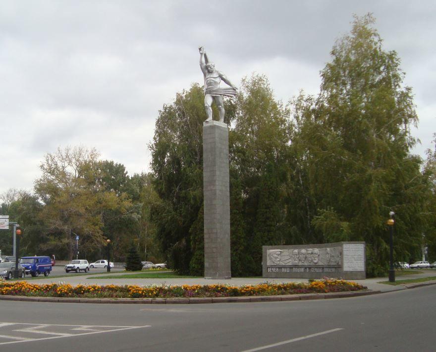 Памятник борцам за установление Советской власти город Липецк