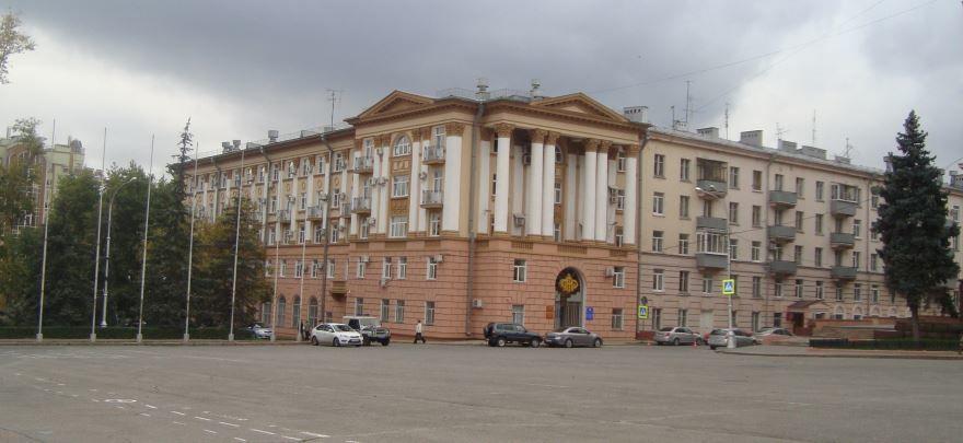 Соборная площадь город Липецк