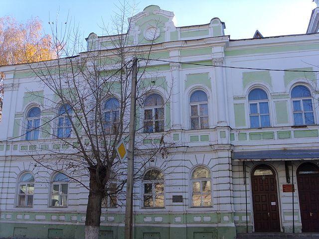 Здание бывшей женской гимназии город Моршанск