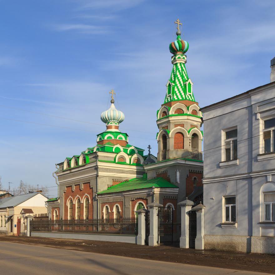 Скачать онлайн бесплатно красивое фото достопримечательности города Моршанск в хорошем качестве