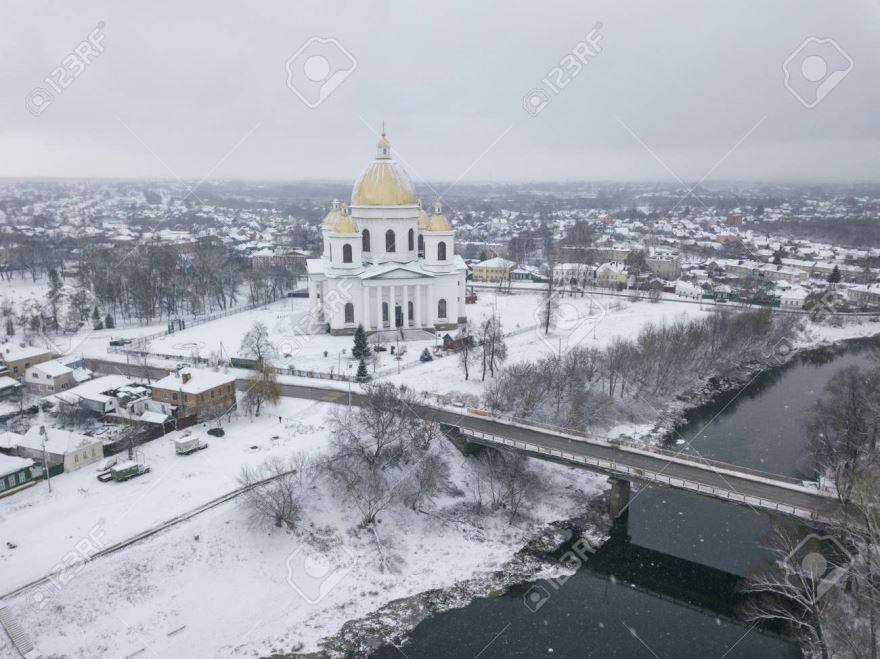 Смотреть красивый вид города Моршанск 2019 бесплатно