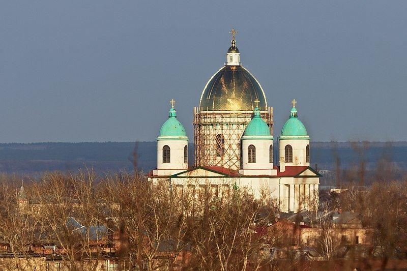 Троицкий собор город Моршанск
