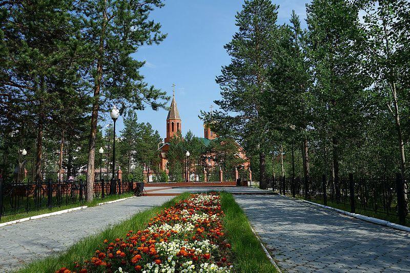 Смотреть красивое фото достопримечательности города Муравленко в хорошем качестве