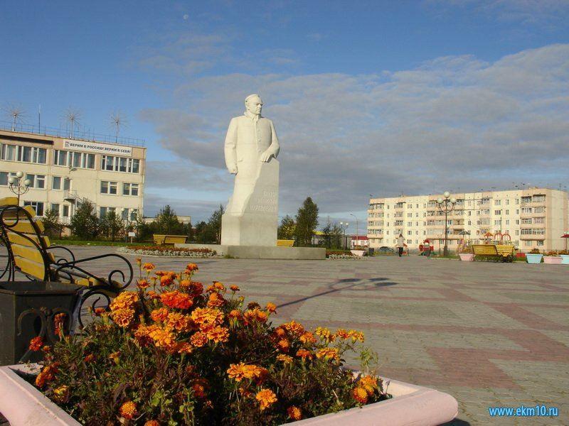 Памятник В.И. Муравленко