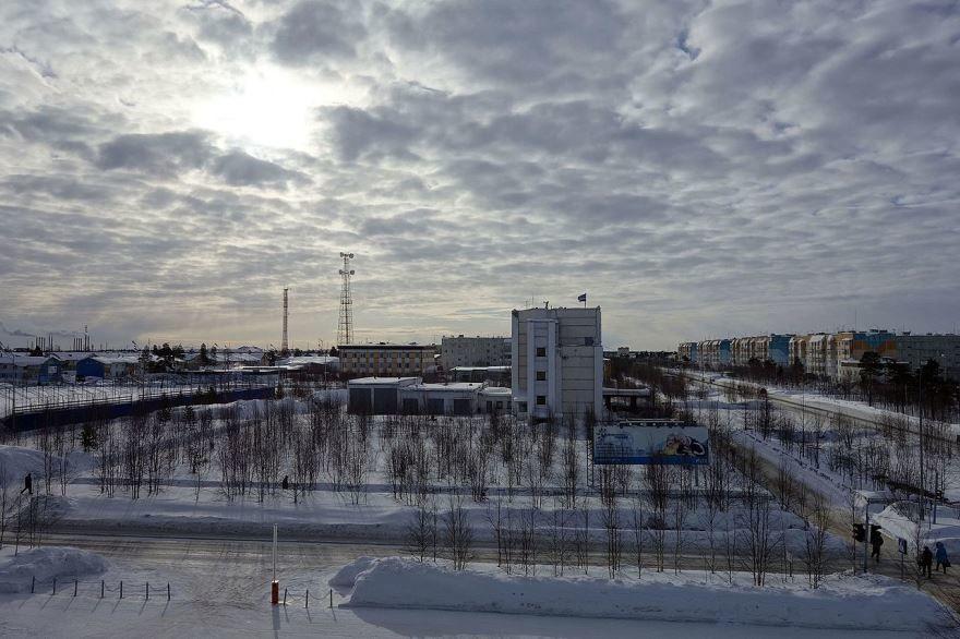 Смотреть красивое фото вид города Муравленко 2018 бесплатно