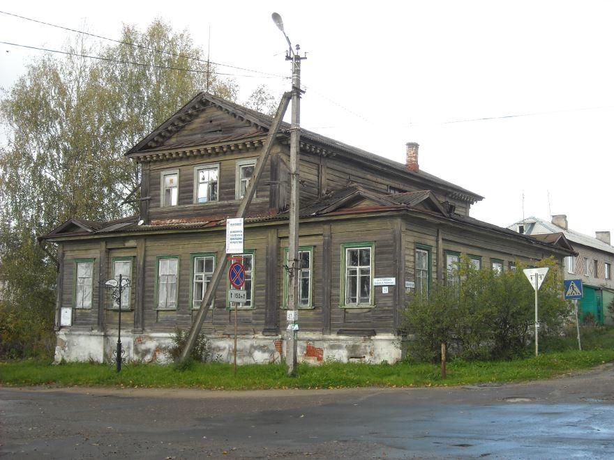 Дом Поповых город Мышкин